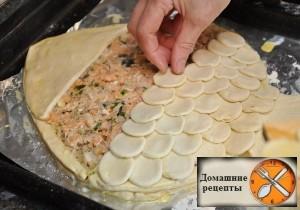 """Пирог """"Золотая рыбка"""""""
