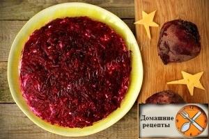 """Салат """"Рождественская ночь"""""""