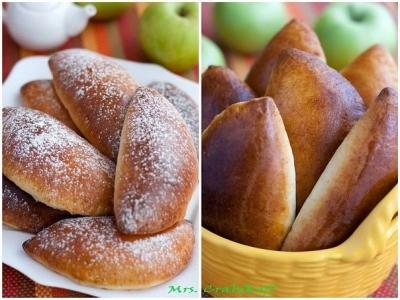 Яблочные пирожки