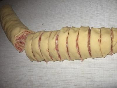 Шанежки с мясом 2
