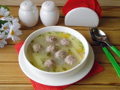 Бабушкин суп с фрикадельками 3