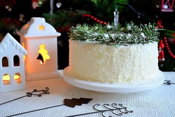 Торт «Кокосовое наслаждение» 6