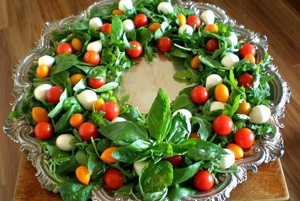 Салат «Новогодний венок»