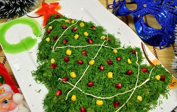 Салат «Лесная красавица»