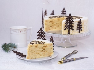 """Торт """"Нежный Наполеон"""" 7"""