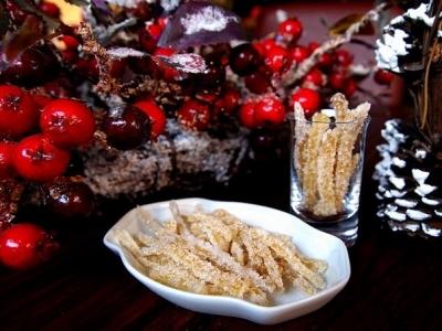 Имбирные палочки в сахаре (имбирные цукаты) 5