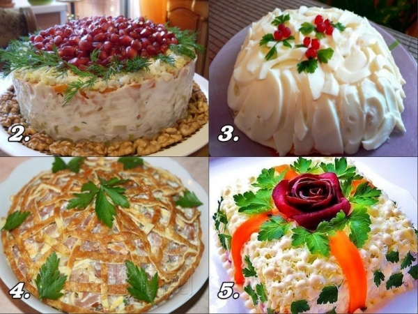 15 невероятно вкусных салатов для праздничного стола!