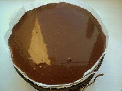 Торт «Клубника и шоколад» 9