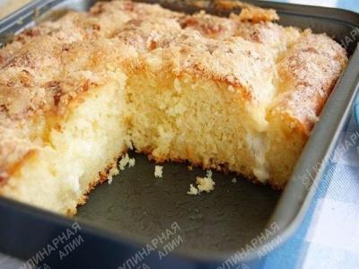 Сахарный пирог 5
