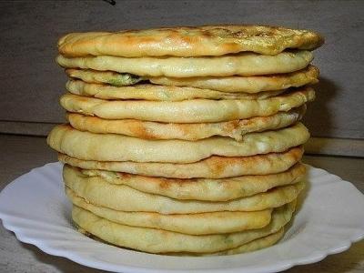 Хачапури с сыром и яйцом 1