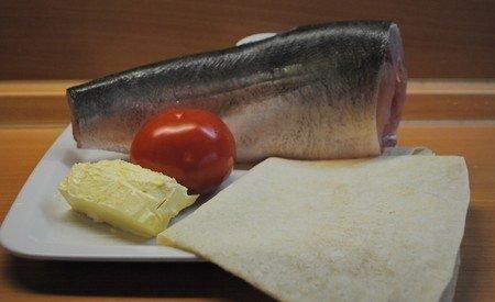 Рыба, запеченная в лаваше 1