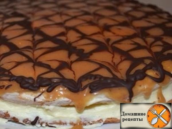Торт Коровка дом. рецепты