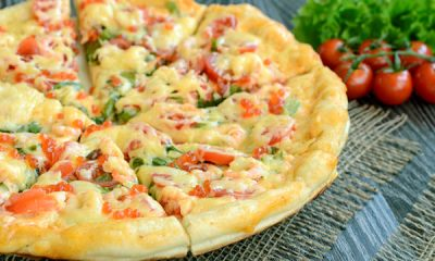 Пицца с креветками 7