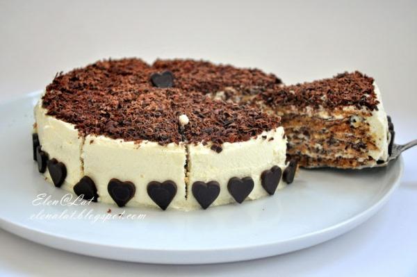 Итальянский ореховый торт 1