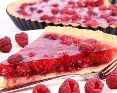 Пироги с малиной  2
