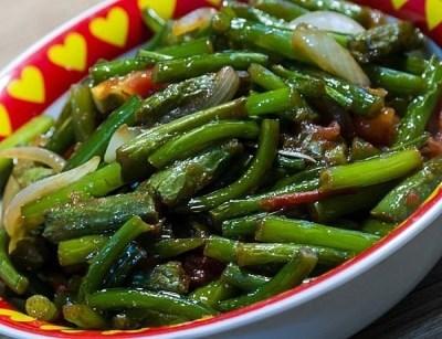 Салат из стрелок чеснока по-корейски 4
