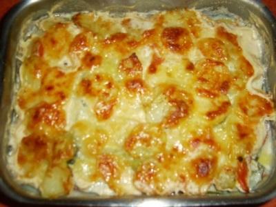 Рыба с картошкой в духовке 2