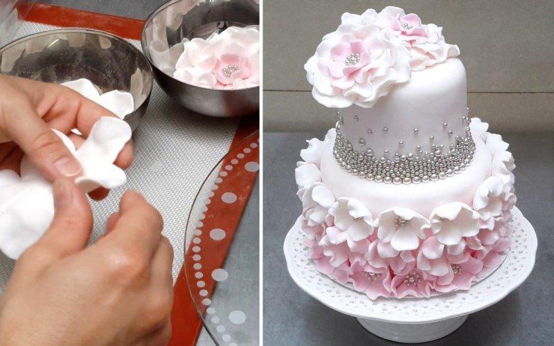 рассылку как поставить фото на торт из мастики хромированные
